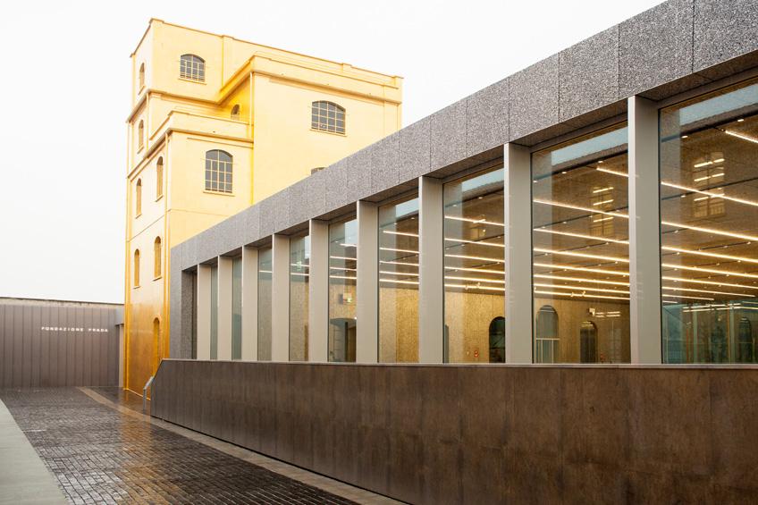 Fondazione prada zuccheinpiazza for Largo isarco 2 milano